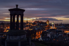 Classic Edinburgh Sunset Into Dusk (Colin Myers Photography) Tags: city blue sun castle classic colin set clouds photography scotland cool twilight edinburgh december cityscape colours dusk awesome hill scottish scape caltonhill atmospheric calton myers 2014 edinburghsunset classicedinburgh edinburghtwilight 201214 colinmyersphotography 20thdecember2014