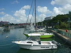 Boats. (ironypoisoning) Tags: boats barbados bridgetown
