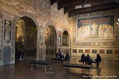 Palazzo pubblico - La Sala del Mappamondo