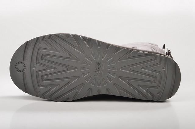 grey grau australia bow bailey ugg stiefel lammfell gefüttert uggaustralia veloursleder 1002954 damenbootsgefüttert