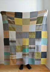 Manta (Mi Mitrika) Tags: tricot handmade riscas manta l quadrados
