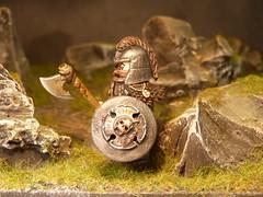 Wolf Clan Warrior (SecutorC) Tags: greek starwars fighter lego roman dwarf fantasy future demon warhammer warrior samurai minifig custom viking orc dwarves spartan gladiator samuraix apoc customx gox customlego fighterx fantasyx soldierx romanx starwarsx greekx steampunkx warriorx skyrimx dwarfx warhammerx appocx dwarvesx