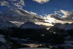 Oberengadin / Engiadin'Ota (RS_1978) Tags: schnee winter lake snow alps clouds alpes lago schweiz see nuvole wolken lac berge che neige alpen nuages engadin graubünden samedan gewässer bodyofwater engiadina panasoniclumixfz1000