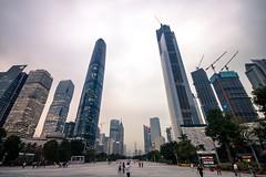 Guangzhou (jo.sau) Tags: guangzhou china city urban modern skyscraper cbd futuristic miestas kinija