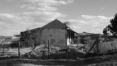 Stone Cottage (s.haydon) Tags: blackandwhite building heritage monochrome architecture ruins australian historic adelaide southroad stonecottage ohalloranhill