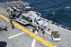 USS Iwo Jima (LHD 7)_150127-N-QM905-021 (U.S. Naval Forces Central Command/U.S. Fifth Fleet) Tags: marine 7 shelby sailor tucker magnificent lhd ussiwojima 5thfleet 6thfleet iwoarg24meu