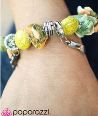 Sunset Sightings Yellow Bracelet K(mqyd)
