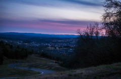 Recent Dusk Over Franklin, TN (Tom Frundle) Tags: road winter sky franklin cool colorful purple pentax dusk overlook k3 franklintn 2015 pentaxian sigma3514 tnsunsetdusksky pentaxk3