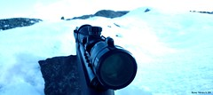 Waiting (Papa Razzi1) Tags: winter snow waiting rifle february z1 tactical 2015 762 4638 45365 xperia