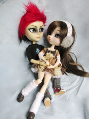 [Improvisando] 25/31 (nakapinata) Tags: cute love couple full wig kawaii pullip custom luts ok hash rei socorro ayanami obitsu 27cm taeyang