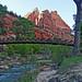 Last Rays over Emerald Pools Bridge, Zion 2014