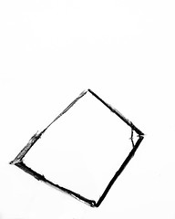 2 triangles = a square, BW Vancouver, BC (gks18) Tags: park blackandwhite bw white abstract black reflection nature water grass vancouver canon garden bc britishcolumbia minimal simplicity canon7d