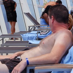 Furry Chest (LarryJay99 ) Tags: cruise hairy sun man male men guy hands nipples arms masculine chest manly chesthair guys dude belly caribbean dudes royalcaribbean stud studs swimwear armpits caribbeansea virile allureoftheseas canonefs18135mmf3556is