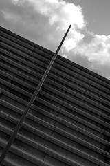 Stairway to Heaven (ericspies68) Tags: sky bw white black holland netherlands monochrome clouds stairs mono blackwhite nikon heaven nuvole nuvola arnhem flight steps nederland himmel wolke wolken cu stairway treppe ciel staircase cielo scala sw escada monochrom nuage schwarzweiss paysbas trap escalier nube hemel niederlande stiege wolk 18105 arnheim elden a325 nuvolo molenweg d7100 n325 escelara rijkswegoost