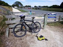 Fish Bike to Tandem Cafe. (JayT47) Tags: fish napier