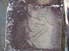 A Stone-Carves Aspara