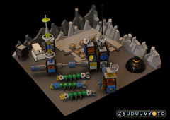 Cosmos 2222 (the_jetboy) Tags: lego space micro moonbase microscale