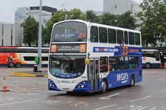 McGILL'S I6907 X23MCG LJ05BVE (bobbyblack51) Tags: bus london station all glasgow south transport buchanan wright gemini pulsar types mcgills daf arriva 2016 db250 of dw124 x23mcg i6907 lj05bve