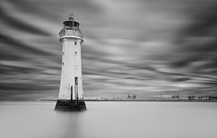 Guardian (Pete Rowbottom, Wigan, UK) Tags: newbrighton perchrock lighthouse uk ukcoast ukcoastline ukseascape seasacpe longexposure longexposurelandscape longexposureseascape wirral merseyside merseyestuary monochrome mono blackandwhite blacknwhite blackandwhitelongexposure england northwestengland nikond750 water waterscape peterowbottom slowshutterspeed slowshutter coast coastlineuk coastuk landmark drama dramatic dramaticsky cloudscape serene stillwater surreal outdoor dusk sentinel liverpool britainscoastline sea seaside guardian marine