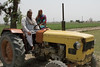 Farmers Sitting on a Tractor (IFPRI-IMAGES) Tags: india plant tractor field season village married farm labor farming grow spouse health crop worker produce agriculture yield cultivation sustainable pulses farmequipment nutrition southasia manoli haryana fertile smallfarm farmtool sonipat foodsecurity rowcrop agriculturaldevelopment micronutrients ifpri