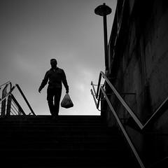 stairs (bemberes) Tags: urban bw bilbao epl3