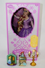 Disney Store Purchases - 2016-07-22 - Singing Rapunzel, Alice and Peter Pan Sketchbook Ornaments, Lumiere Light Up Ornament - Group Photo (drj1828) Tags: us disneystore disneyparks singing rapunzel 16inch doll ornament lightup sketchbook aliceinwonderland peterpan purchase online