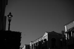 IMG_4999 (zumponer) Tags: summer sky building contrast canon 50mm blackwhite florida highcontrast lamppost fullframe dslr palmbeach canon5dmarkii