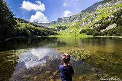 Al Baccio (Fabio75Photo) Tags: blue sky tree verde green nature alberi landscape nuvole blu natura erba cielo montagna palude bambino lacustre immenso
