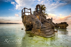 Willy's Rock Grotto (roswell2014) Tags: sunrise malayaklan philippines boracay whitesand beach canon eos 60d morning virginmary travel photography formation