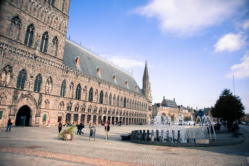 Fountain in Ypres