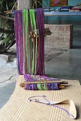 Backstrap Loom Oaxaca Mexico (Teyacapan) Tags: looms textiles mexico mexican oaxacan jalieza weaving tejidos telar