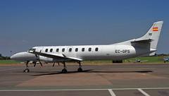 EC-GPS (zeek_xvs1100) Tags: ecgps topfly fairchild swearingen sa227dc metro 23 cn ac722 basking sun senegmc london southend airport