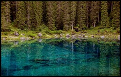 Blues (ELtano86) Tags: eltano86 reflexion reflexions reflejo riflesso nature natural lake lago carezza italy