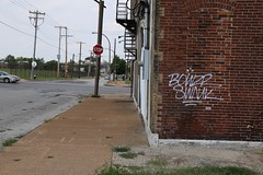 bowzer swank (ExcuseMySarcasm) Tags: handstyle stlouis graffiti bowzer swank