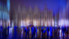 Impression market Brussels (bingrens) Tags: impression blue shadow brussels belgium