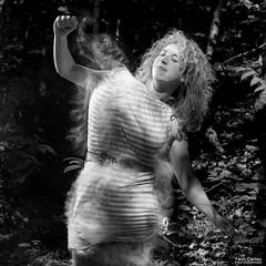 Flour Dancer#02 (Yann Cariou) Tags: aurliagaborit fort flour dancer farine noirblanc strange weird magic yanncariou