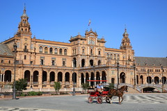 Plaza de Espana (HDH.Lucas) Tags: seville andalusia spain espana plaza lucas