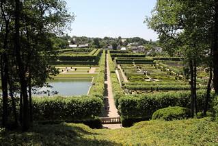 Villandry - les jardins d'en haut