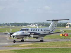 G-WNCH Beech Super King Air 200 Synergy Aircaft Leasing Ltd (Aircaft @ Gloucestershire Airport By James) Tags: gloucestershire airport gwnch beech king air 200 synergy aircaft leasing ltd egbj james lloyds