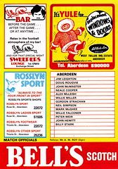 Aberdeen vs St Johnstone - 1983 - Page 12 (The Sky Strikers) Tags: road cup st magazine official scottish aberdeen don to hampden league johnstone the matchday pittodrie 40p