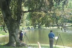 Painters, Boston Public Garden (pictureguy89) Tags: painters bostonpublicgarden duck pond