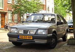 1987 Opel Ascona hatchback 1.8S LS (rvandermaar) Tags: 1987 opel ascona hatchback 18s ls opelascona opelasconac sidecode4 sg55bp c asconac