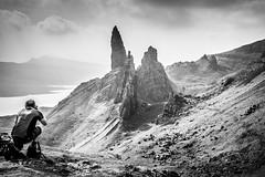 Old man of Storr (johan wieland) Tags: schotland scotland snp blackandwhite zwartwit old man storr isle skye