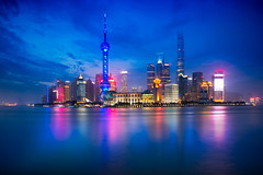 Shanghai skyline (Patrick Foto ;)) Tags: architecture asia attraction beautiful building business central china chinese city cityscape copyspace district downtown dusk evening famous finance financial highrise huangpu landmark light lujiazui metropolis modern morning night office oriental panorama pearl pudong reflection river scene shanghai sky skyline skyscraper tall tourism tower travel twilight urban view water waterfront shanghaishi cn