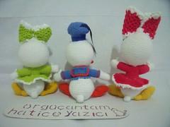 BEBEK DONALD DUCK VE DEYZ  (1) (rgantam) Tags: babyduck amigurumi rgoyuncak handmade elemei doalama