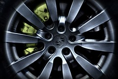 Wheel of Fortune (Explored) (Steve.T.) Tags: porsche wheel alloywheel car automobile porschewheel brakecaliper tyre nikon d7200 brakes wheelnuts caliper round