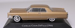Cadillac Coupe DeVille 1966 (Jeffcad) Tags: cadillac coupe deville 1966 143 scale model ixo altaya edition diecast gold sixties