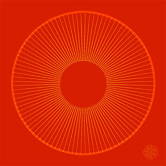 zolfo rosso (ruota) (CCS / GMC) Tags: giulia maria calderini creative studio ccs gmc zolforosso islam spiritualit