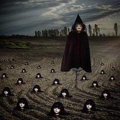 Places I know (Flamenco Sun) Tags: disturbing weird plant destruction death depression horror field scarecrow darkness dark