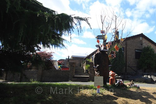 The Gruffalo at the Heather Scarecrow Festival 2016